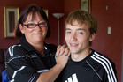 Judson Laming, who was carried by a surrogate mother, says people are fascinated by his life story. Photo / Simon Baker