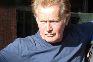 Martin Sheen takes a rest on his Spanish pilgrimage in The Way. Photo / Supplied