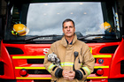 Peter Wilding, who runs the New Zealand Fire Service's fire awareness and intervention programme. He says not all kids are deliberate arsonists. Photo / Neville Marriner