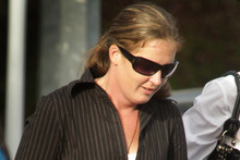 Courtney Storey collided head-on with Brenda Hepburn while driving drunk.  Photo / Alan Gibson 