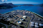 Marsden Point facility, the country's only oil refinery. Photo / NZ Herald