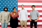 Alabama Shakes formed a band to give themselves something to do and feel lucky to have found each other.  Photo / Supplied