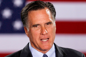 Republican presidential candidate, Mitt Romney. Photo / AP