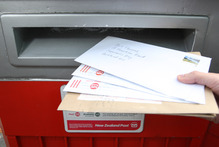 Mail may only be delivered three days a week if NZ Post cuts back on its services. File photo / Kellie Blizard