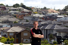 Gareth Berry (35) who has looked for over four months for a house in Auckland in his price range. Photo / NZ Herald