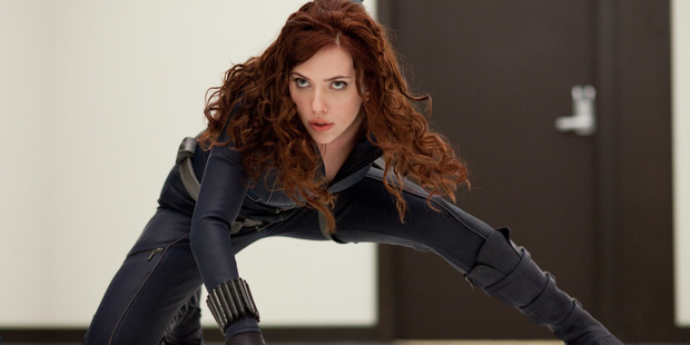 Scarlett Johansson as Black Widow. Photo / Supplied