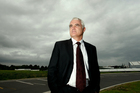 Auckland Airport chief executive Simon Moutter is leaving to take up the top job at Telecom. Photo / Brett Phibbs