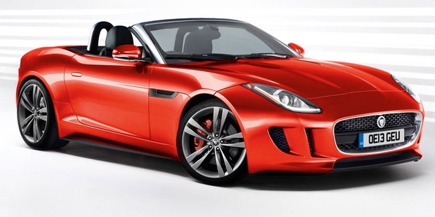 Jaguar says the F-type will be its first true sports car for more than 50 years. Photo / Supplied
