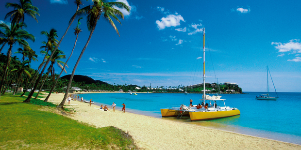 Rising seas would wipe out tourist resorts, airports, roads, land and services in places like Antigua in the Caribbean. Photo / Thinkstock