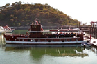 The Isla Morada, used by Al Capone, is the oldest vessel still crossing the Panama Canal. Photo / AFP