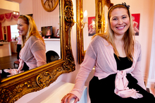 Phoenix Renata, owner of Phoenix Cosmetics, is a bout to open her first Australian store, in Tasmania. Photo / Dean Purcell
