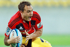 Israel Dagg is beginning to gather momentum for the Crusaders. Photo / Getty Images