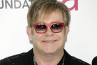 Elton John is hoping to have another baby with his partner, David Furnish. Photo / AP