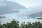The beautiful Mendenhall Glacier. Photo / Jared Savage