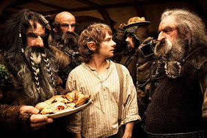 Peter Jackson has screened a 10-minute preview of The Hobbit to industry experts. Photo / Facebook