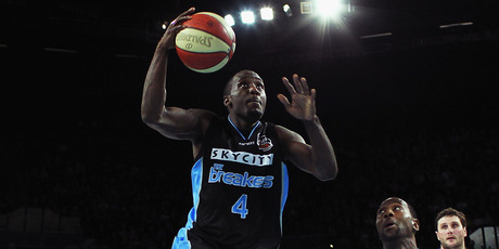 Breakers guard Cedric Jackson.