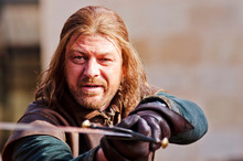 Ned Stark (Sean Bean) in <i>Game Of Thrones</i>.