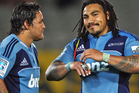Piri Weepu and Ma'a Nonu haven't made the impact Blues' fans would have expected this season. Photo / Getty Images