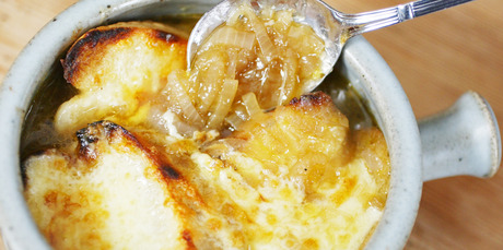 There are many recipes out there for French Onion Soup. Photo / NZ Herald