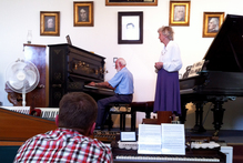 Whittaker's Music Museum on Waiheke Island. Photo / Supplied