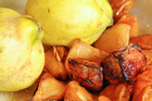 Roasted quince. Photo / Jason Dorday