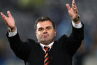 Ange Postecoglou. Photo / Getty Images