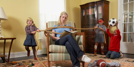 It can be mayhem at home when the kids are on holidays.