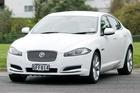 Jaguar's XF sports sedan has impressive security features. Photo / Supplied