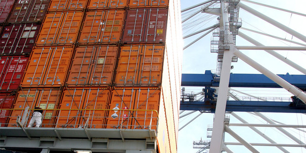 The Productivity Commission has recommended that international shipping companies should have to seek permission before engaging in price fixing. Photo / NZ Herald