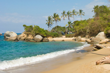 A beach in Tayrona National Park, Colombia. Photo / Thinkstock
