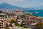Mt Vesuvius looms over Naples, a city with a hard reputation but fascinating nevertheless. Photo / Thinkstock