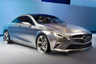 Mercedes-Benz' Concept Style Coupe's Beijing debut. Photo / Supplied
