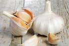 Garlic puts up a good fight against food poisoning.