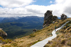 The Loop Track and Lake Poteriteri on the Hump Ridge Track in Tuatapere, Southland. Photo / Tuatapere Hump Ridge Track
