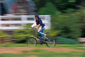 A newspaper boy helped an 87-year-old woman on his delivery route who had fallen. Photo / Thinkstock