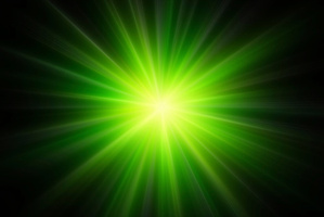 The green laser was shone twice into the cabin of a Boeing 737. Photo / Thinkstock