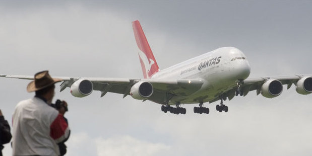 Qantas is delaying delivery of two new Airbus A380 aircraft as it tries to save $400m. Photo / Paul Estcourt
