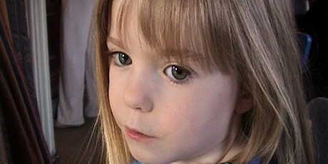 Madeleine McCann. Photo / Anonymous