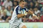 Gareth Anscombe has been dropped from the Blues squad that faces the Hurricanes on Friday night. Photo / Getty Images.