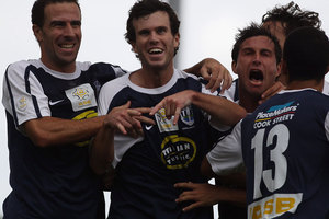 Auckland City must not get too hung up on the need to score an early goal. Photo / Getty Images.