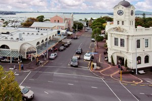 The corner of Jervois Rd and St Marys Rd corner in Ponsonby has the old post office as a landmark.