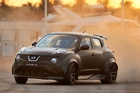 Nissan's Juke-R wiped out the supercars in Dubai, sparking huge buyer interest in the mad wee hatch. Photo / Supplied