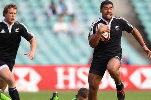Charles Piutau of New Zealand runs the ball. Photo / Getty Images.