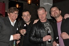 Comedians Rhys Darby, Dan Willis, Adam Ethan Crow and Reuben Lee. Photo / Supplied