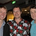 US comedian Bill Dawes, proprietor of The Classic Scott Blanks and UK comedian Milton Jones. Photo / Supplied