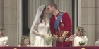 Watch: Prince William and Catherine one year on