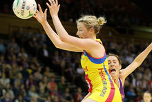 Camilla Lees of the Pulse catches the ball. Photo / Getty Images. 