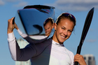 Lisa Carrington says she loves seeing Kiwi athletes beating the world. Photo / Brett Phibbs