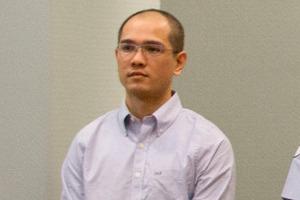 Feng Chih Hsu in court today. Photo / Brett Phibbs