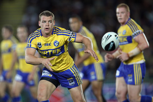 Keating was one of the few to perform for the Eels. Photo / Getty Images